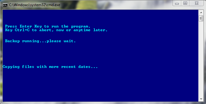Quick and Easy Backup Batch File Windows | Life of a Geek Admin
