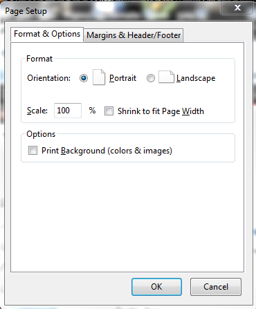 Changing Print Size in Firefox 11+ with NoSquint | Life of a