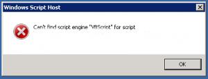 engine vbscript