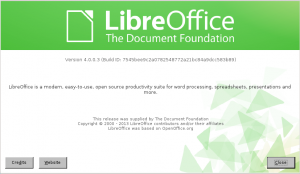 LibreOffice 4.0