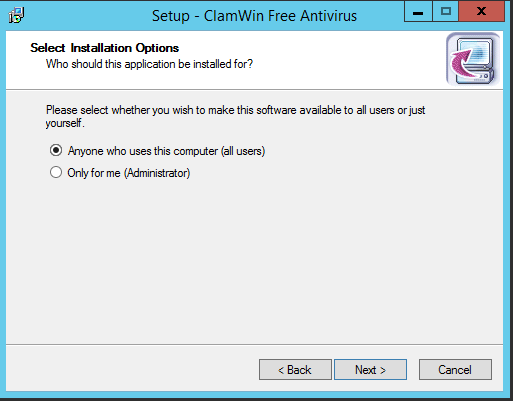 Installing and Configuring ClamWin and Clam Sentinel on