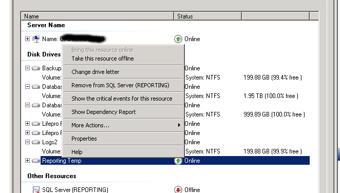 You will receive a popup making sure you know what will happen when you move the storage to available storage. Click Yes to proceed.  sc 1 st  Life of a Geek Admin & How To Remove Storage Resources from a Windows 2008 R2 Cluster ...