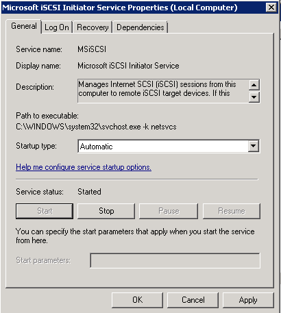 How to Setup iSCSI on Windows 2008 R2 | Life of a Geek Admin