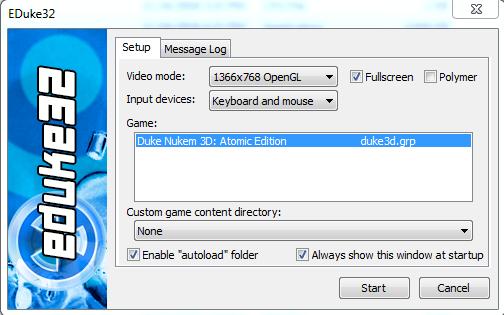 eduke32 setup