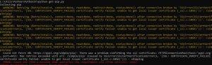 pip install error