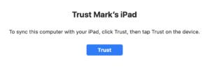 iPad trust